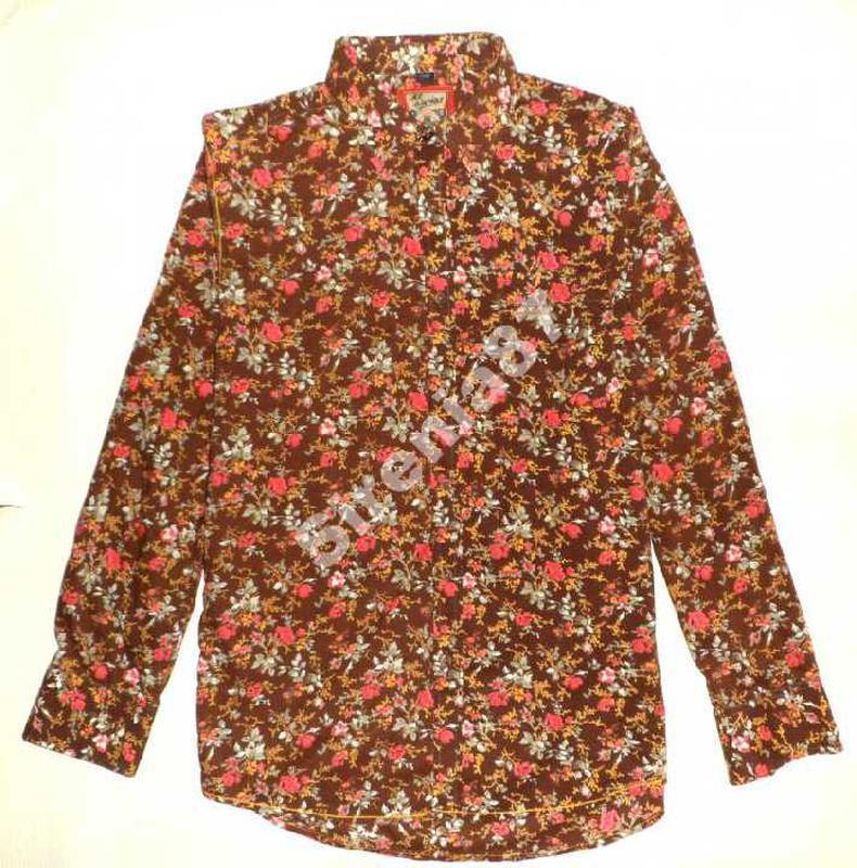 Стильная винтажная рубашка в цветочек №93 joe browns