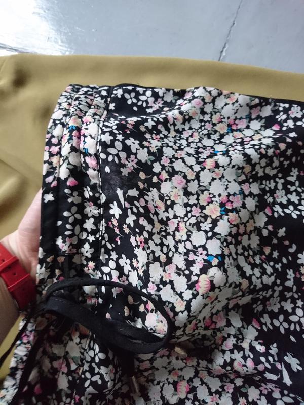 Актуальные шифоновые зауженные брюки джогеры №32 - Фото 2