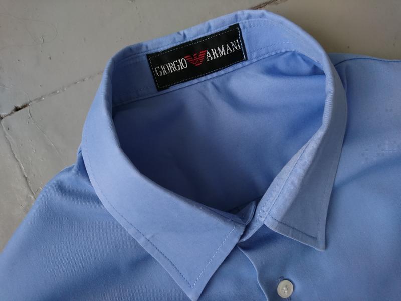 Базовая голубая рубашка №1 - Фото 2