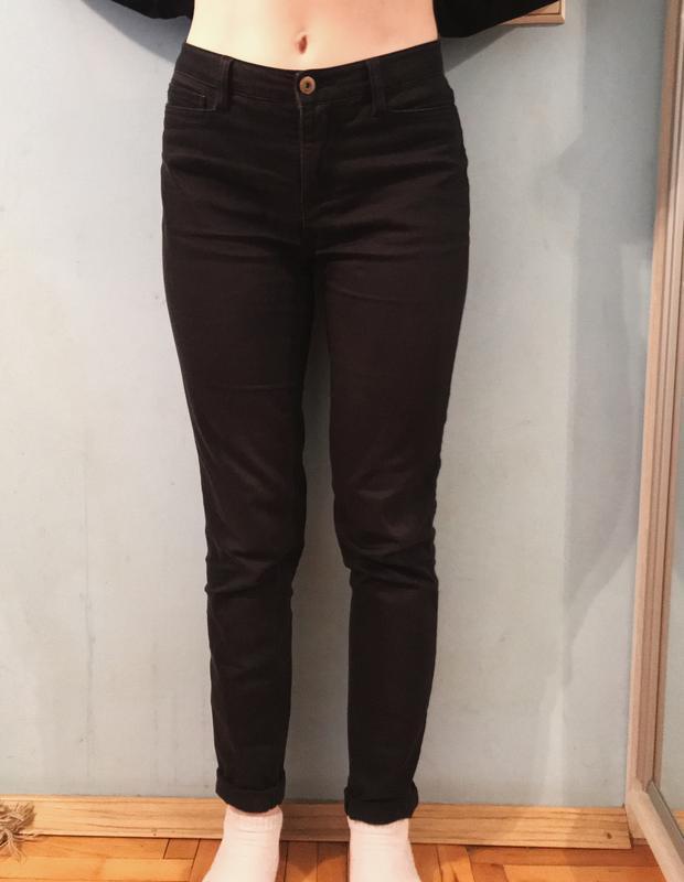 Чорні штани джинси чёрные штаны джинсы