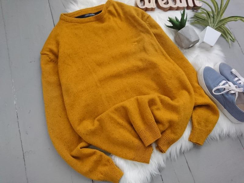 Яркий тёплый шерстяной свитер. - Фото 2