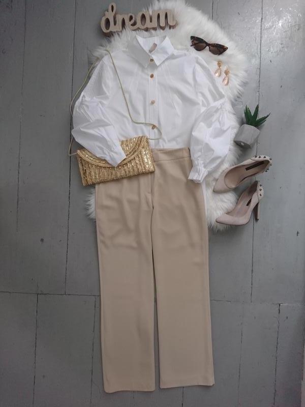 Актуальные сатиновые брюки №112