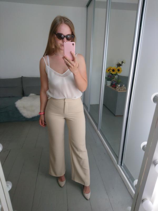 Актуальные сатиновые брюки №112 - Фото 4