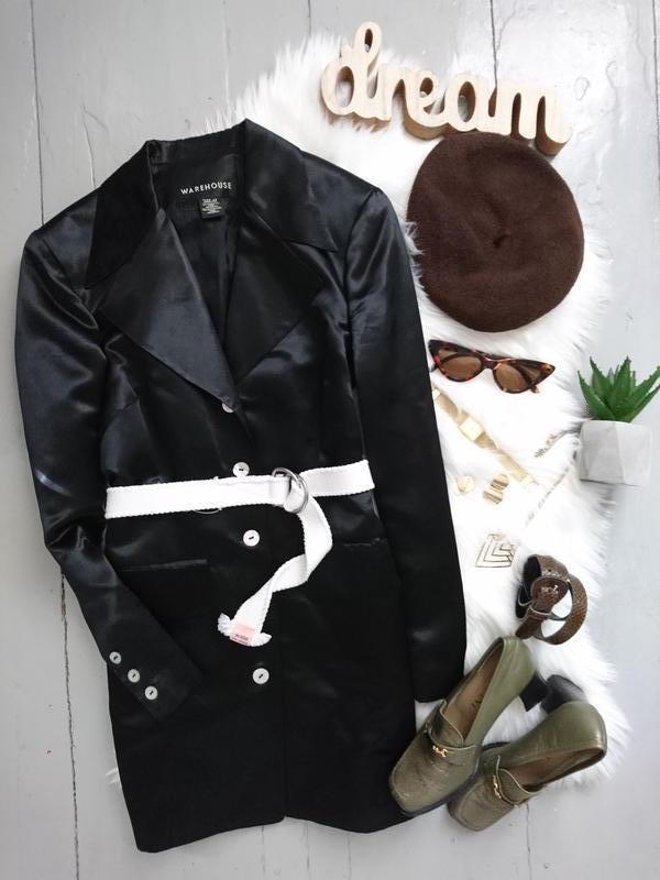 Актуальный удлиненный пиджак платье №2max - Фото 2