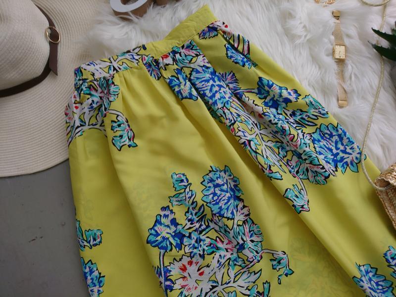 Актуальная летняя макси юбка №145 - Фото 2