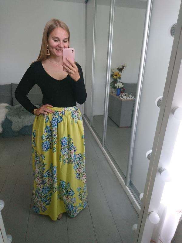 Актуальная летняя макси юбка №145 - Фото 4