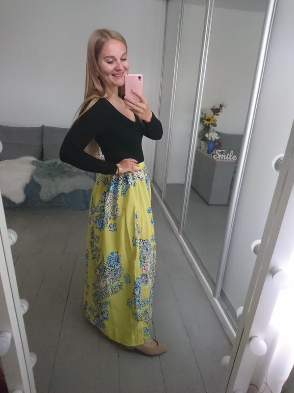 Актуальная летняя макси юбка №145 - Фото 5