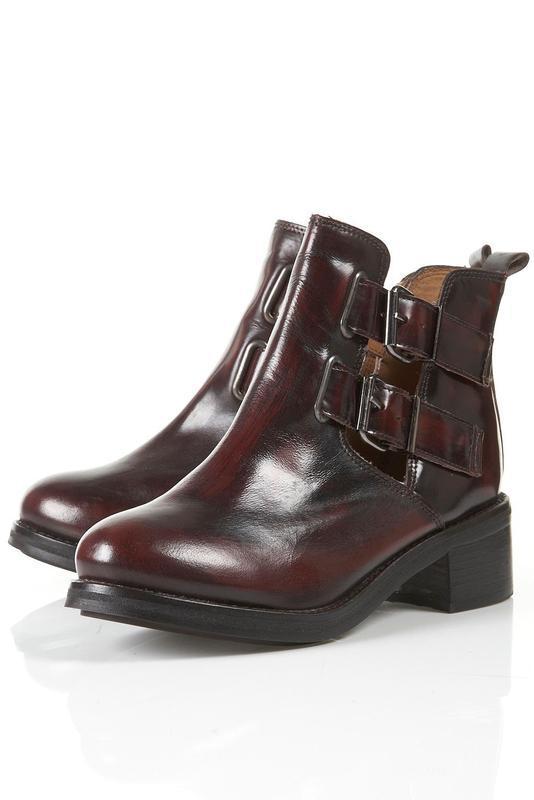 Невероятные кожаные ботинки