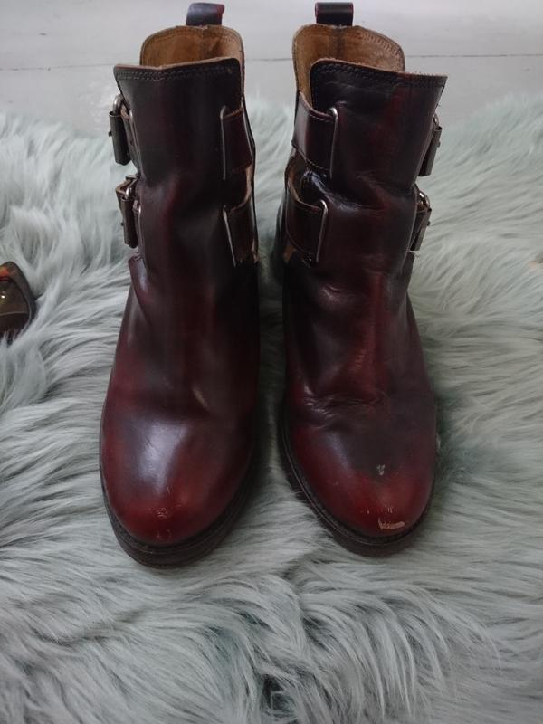 Невероятные кожаные ботинки - Фото 4