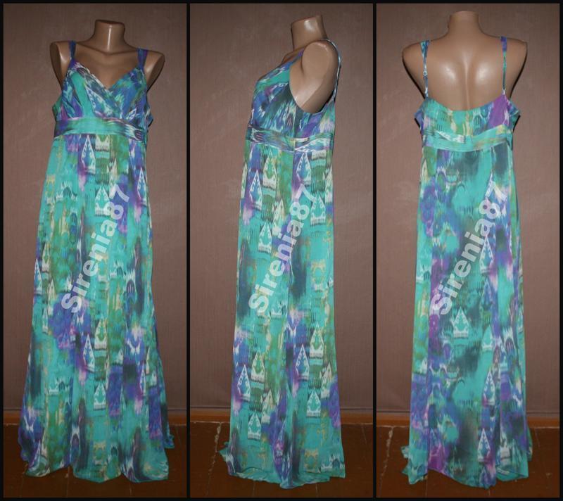 Sale стильное макси платье №65