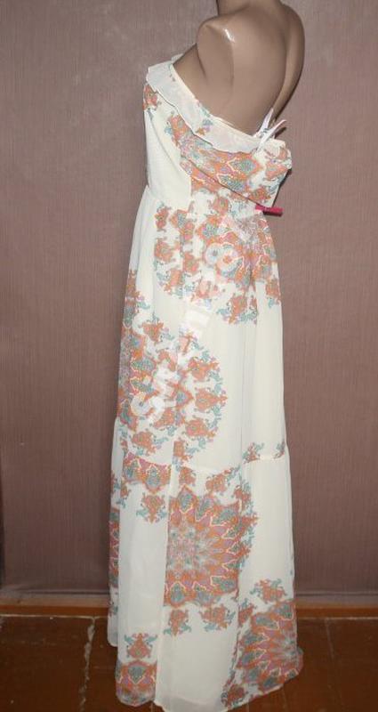 Оригинальное шифоновое платье в стиле бохо №15 - Фото 2