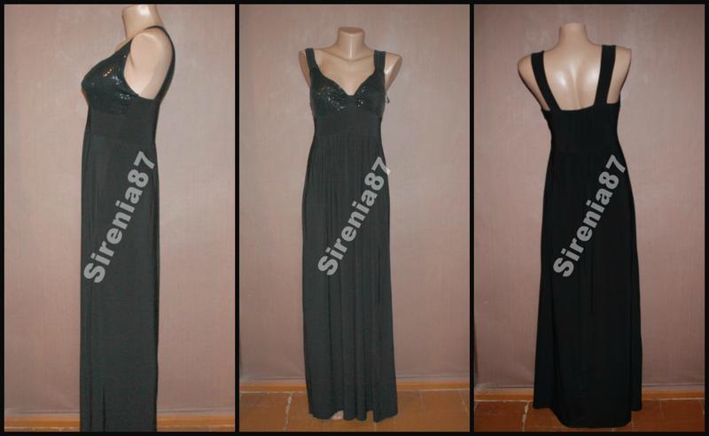 Стильное макси платье №369