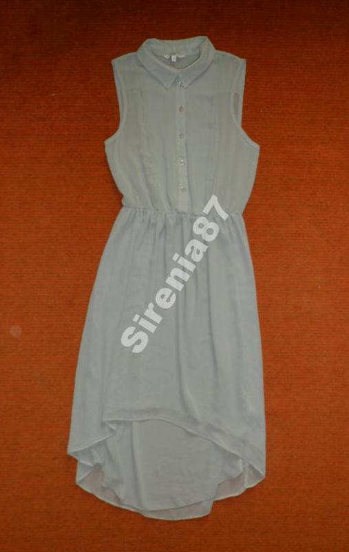 №233 асимметричное платье рубашка
