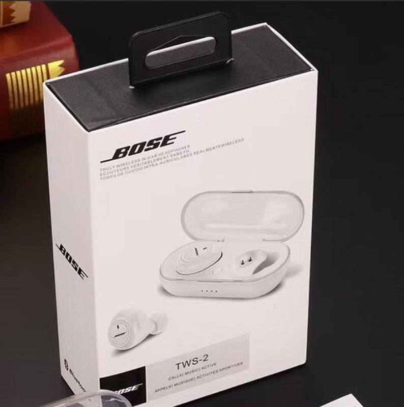 Вакуумные Беспроводные блютуз наушники Bose TWS 2, Акция - Фото 2