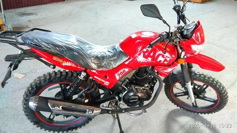 Мотоцикл НОВИЙ SENKE sk200-9 Race/ Є вибір Мотоциклів і Скутерів!