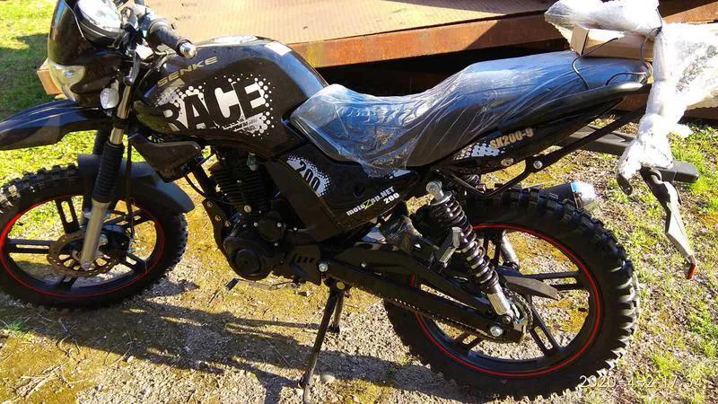 Мотоцикл НОВИЙ SENKE sk200-9 Race/ Є вибір Мотоциклів і Скутерів! - Фото 6