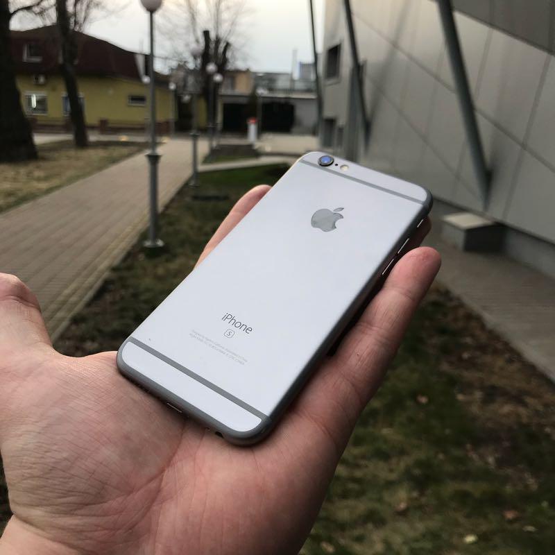 IPhone 6s 32Gb Space Gray neverlock оригинал б у