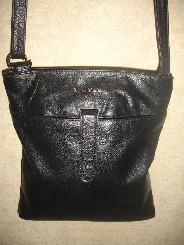 Фирменная james lakeland кожаная сумка оригинал
