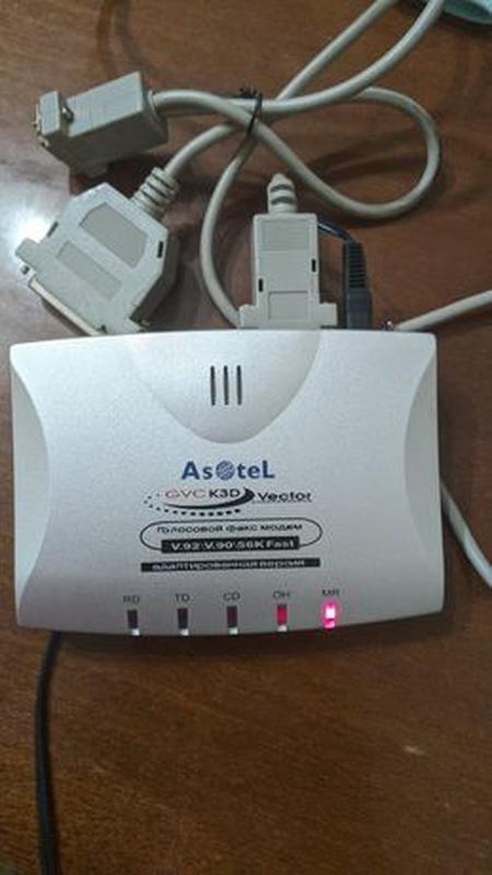Голосовой факс-модем внешний голосовой Asotel GVC K3D Vector P...