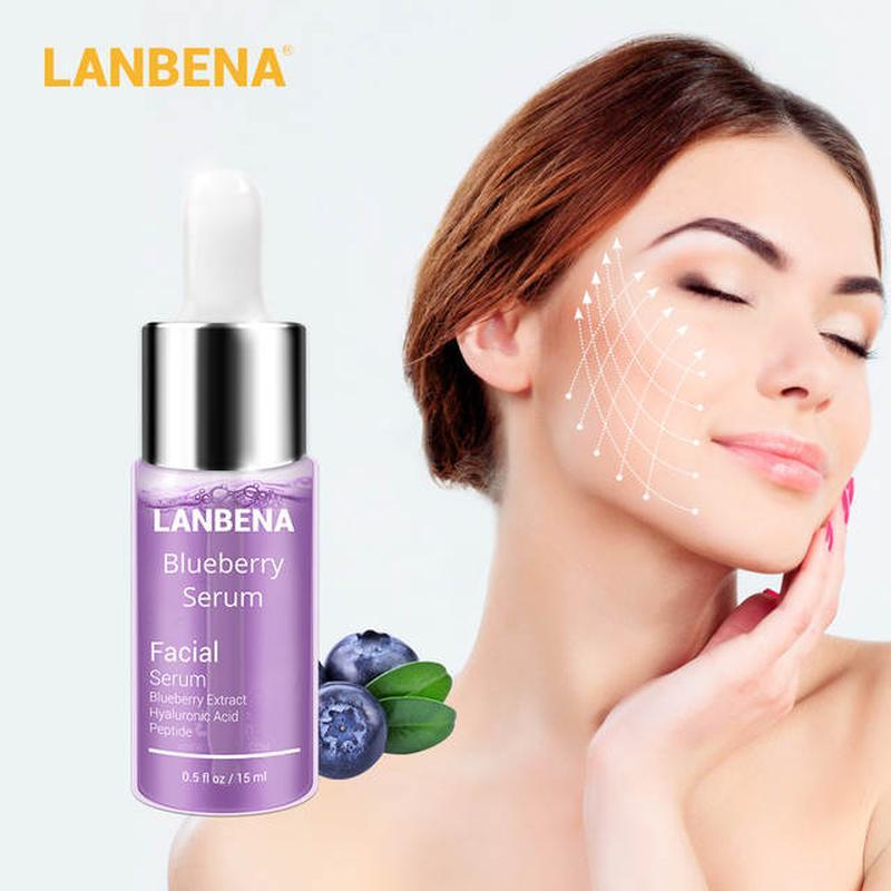 Сыворотка Lanbena Blueberry Serum, с гиалуроновой кислотой
