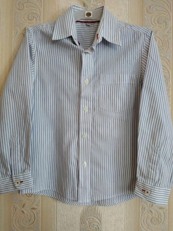 Рубашка в полоску р.122