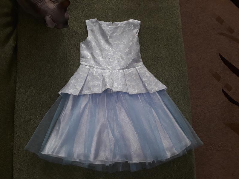 Платье нарядное mevis, 110 см, 5-6 лет