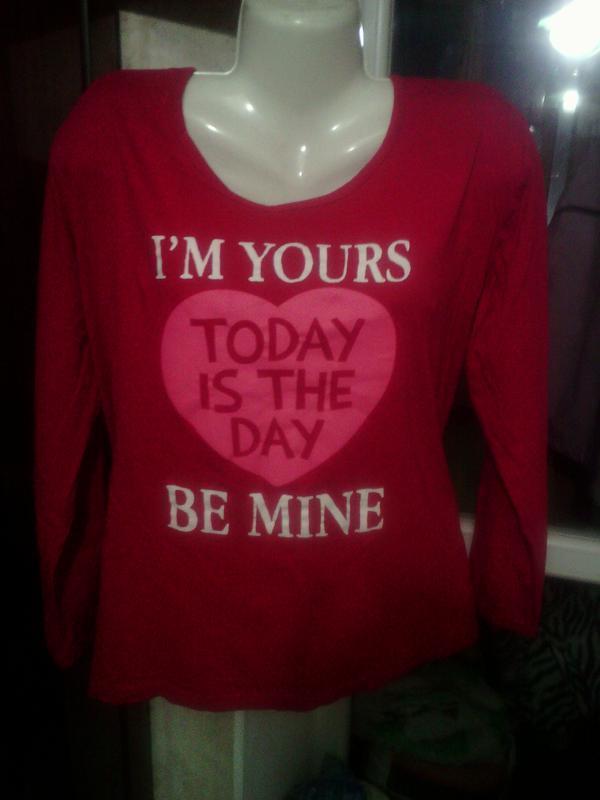 Красная футболка с длинным рукавом, размера плюс сайз, xxl, ук...