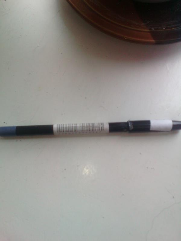 Механический карандаш для глаз синий перламутр