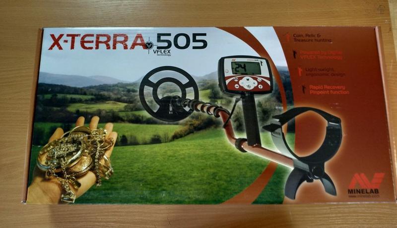 Металлоискатель Minelab X-Terra 505