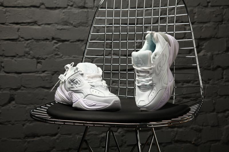Nike m2k tekno white кроссовки - Фото 8