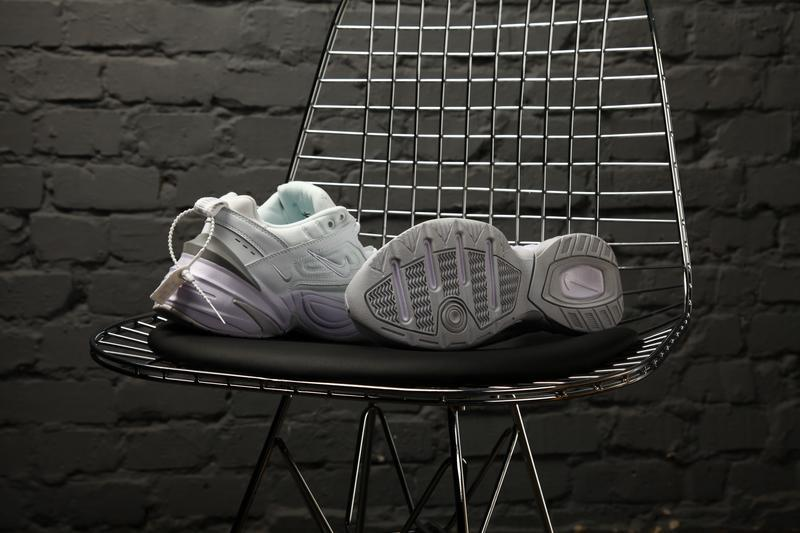 Nike m2k tekno white кроссовки - Фото 9