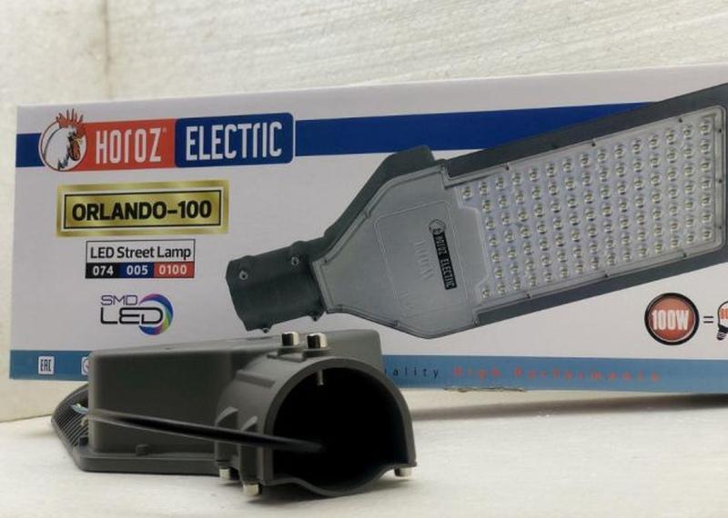 LED Светильник уличный 100w50w30w20w светодиодный консольный H... - Фото 3