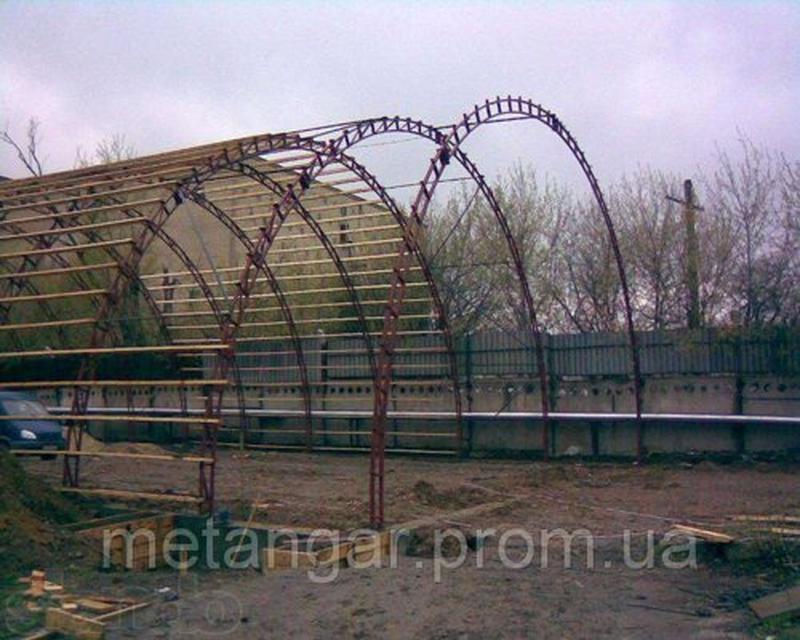 Строительство сооружений из металлоконструкций