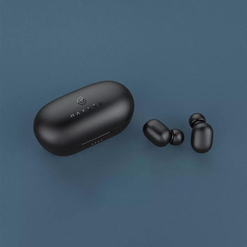 Беспроводные Bluetooth наушники Haylou GT1 Pro с зарядным кейсом