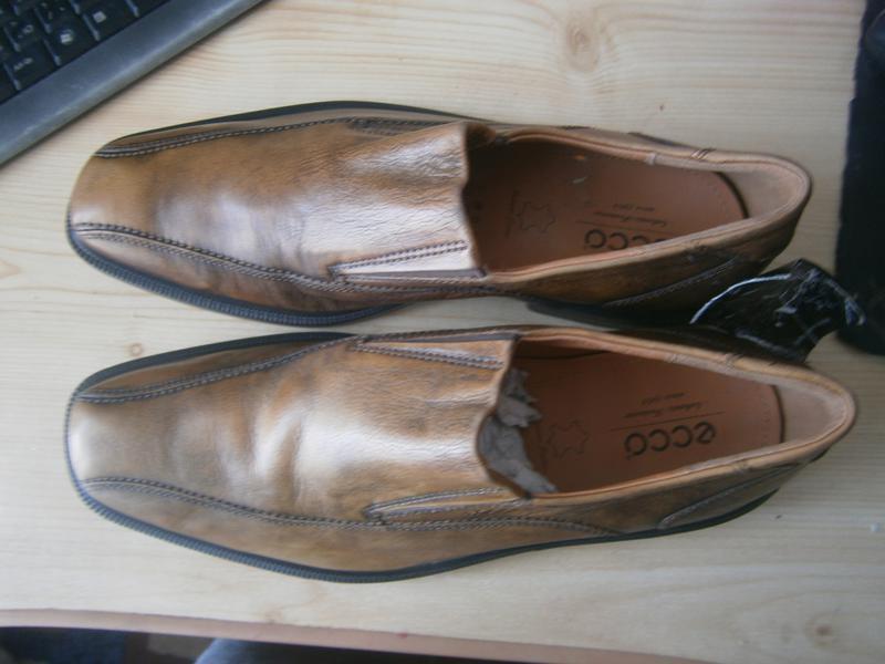 Туфлі ecco chicago оригінал натуральна кожа