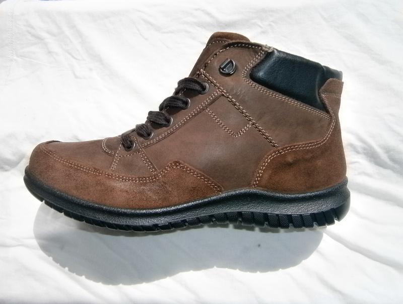 Ботинки зимові bama  оригінал натуральна замша