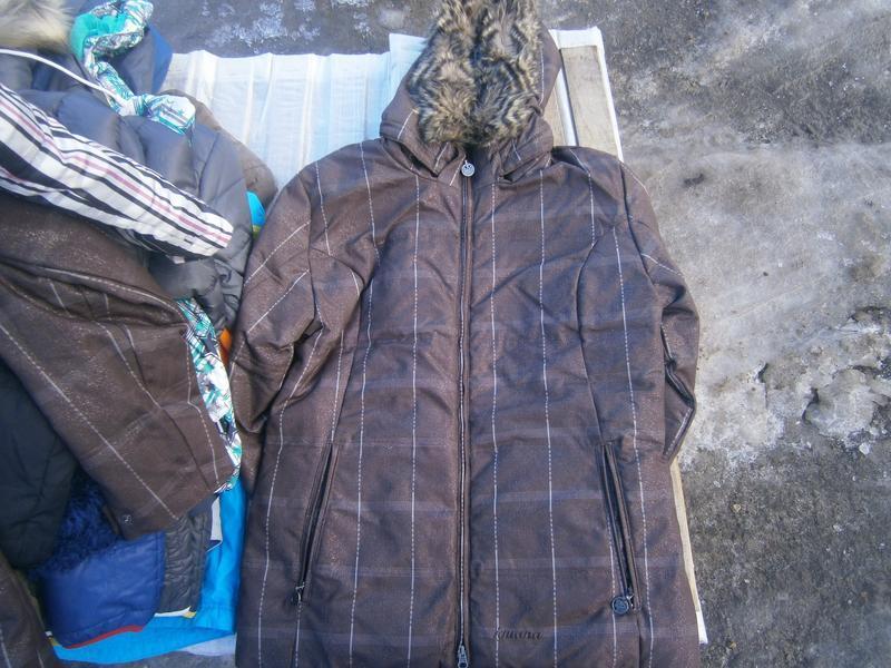 Куртка зимова iguana пухова оригінал