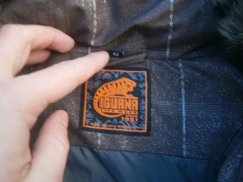 Куртка зимова iguana пухова оригінал - Фото 3
