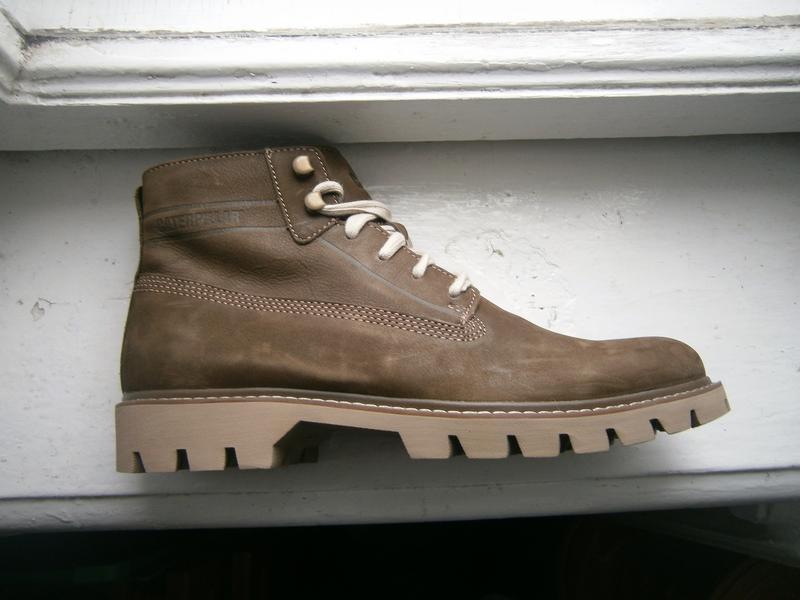Ботинки caterpillar basis оригінал натуральний нубук