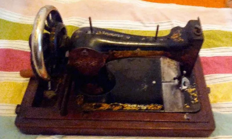 Швейная машинка (1906 год) the singer manfg.co, рабочая - Фото 2