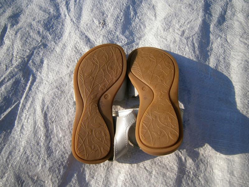 Босоніжки amonte оригінал натуральна кожа - Фото 3