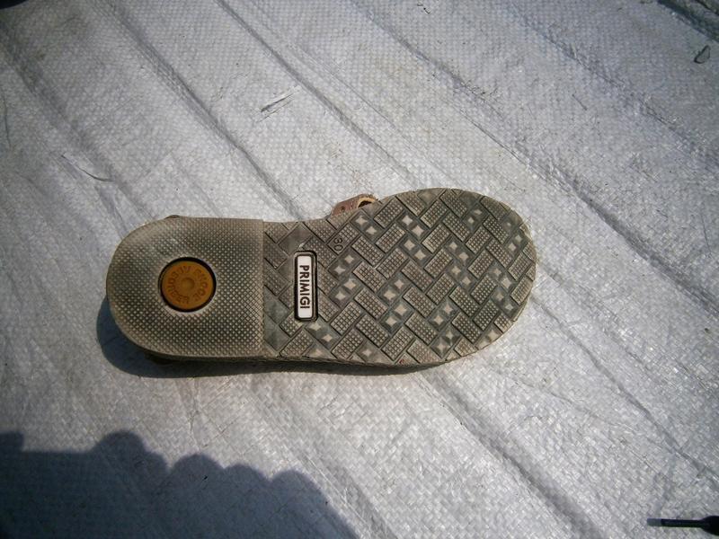 Босоніжки primigi оригінал натуральна кожа - Фото 3