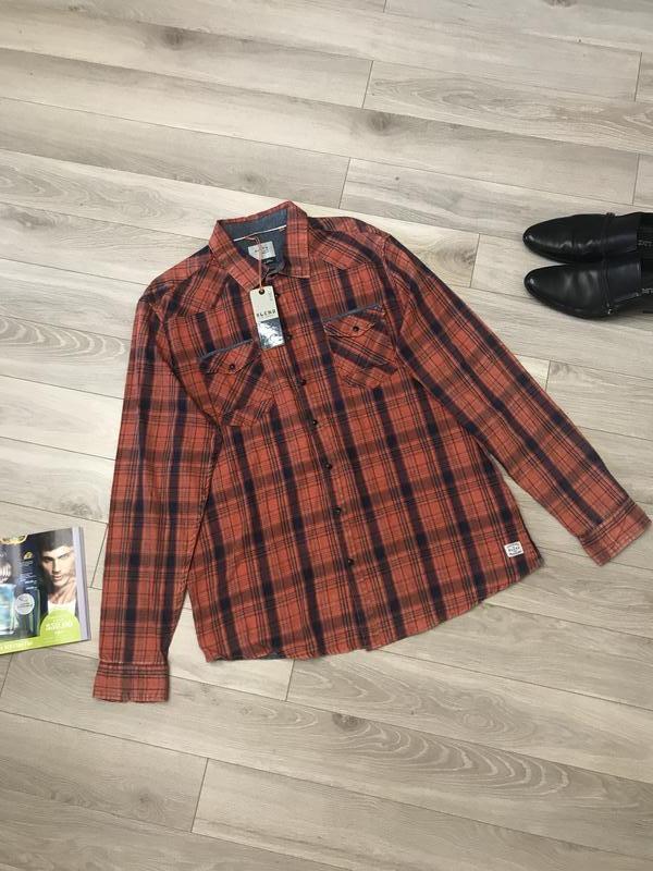 Рубашка с мягким воротником классно на теле оригинал