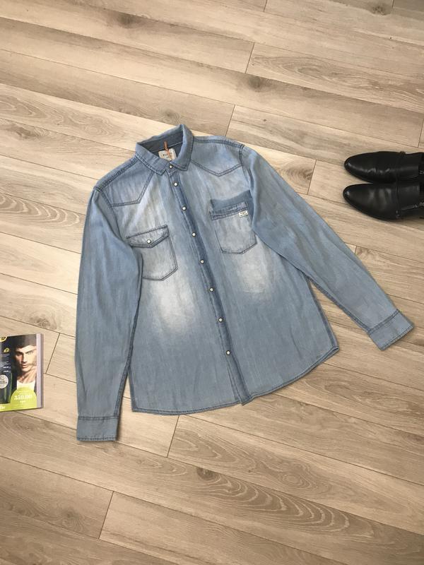 Супер джинсовка джинсовая рубашка оригинал