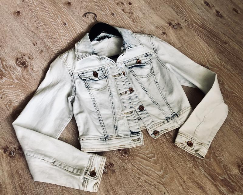 Новая женская джинсовая куртка tally weijl.