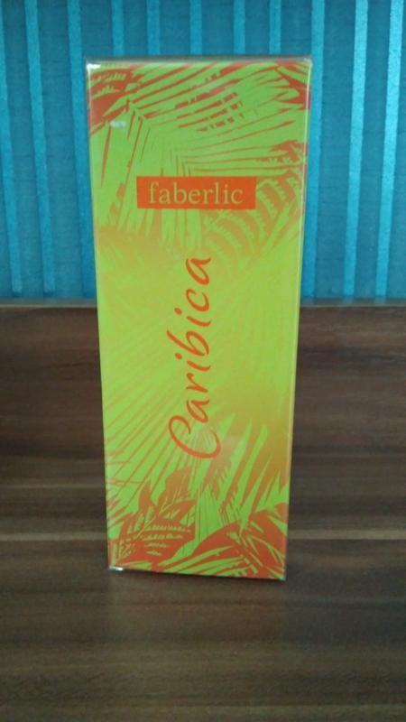Faberlic парф.вода caribica,25мл