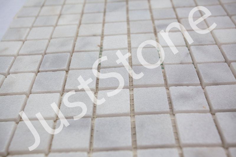 Белая Мозаичная плитка Полированная МКР-2П (23x23) - Фото 4
