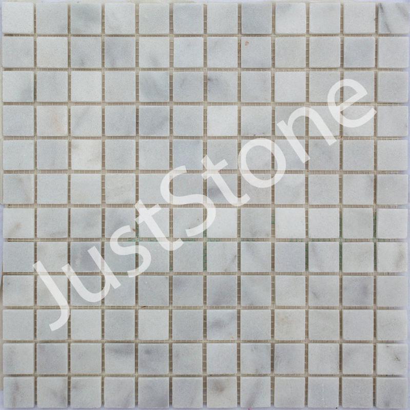 Белая Мозаичная плитка Полированная МКР-2П (23x23)