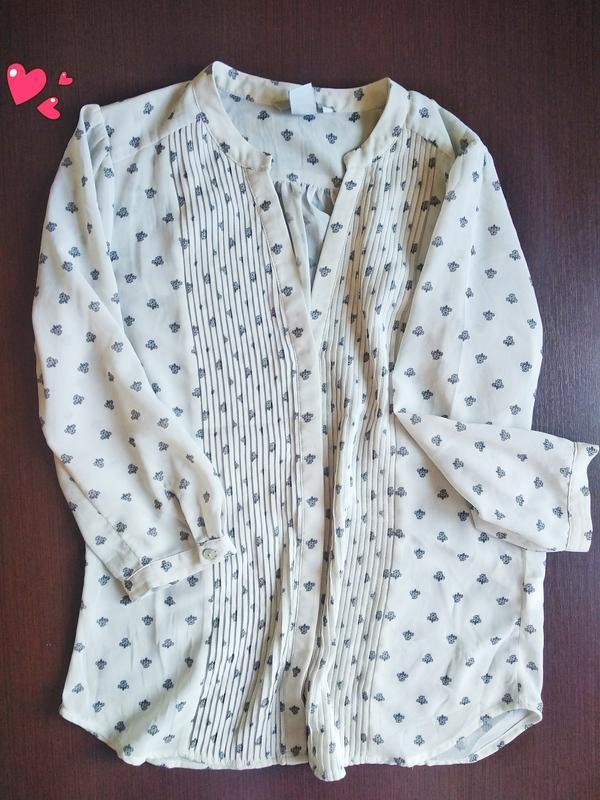 Нарядная блуза, кофточка с защипами, молодежная одежда