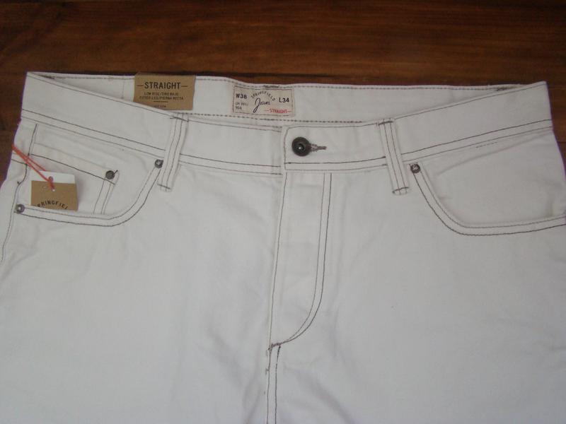 Летние , шикарные   брюки ( джинсы ) от испанского бренда spri... - Фото 5